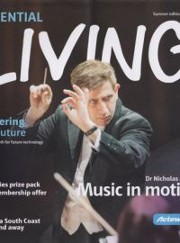 "ESSENTIAL Living. ""Dr. NIcholas Milton. Music in motion"""