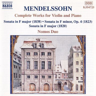 Mendelssohn: Complete Works for Violin